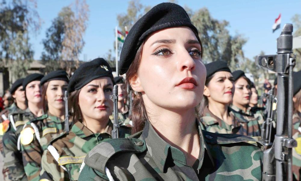 Peshmerga Troops have been included in NATO training in Iraq since July 2018