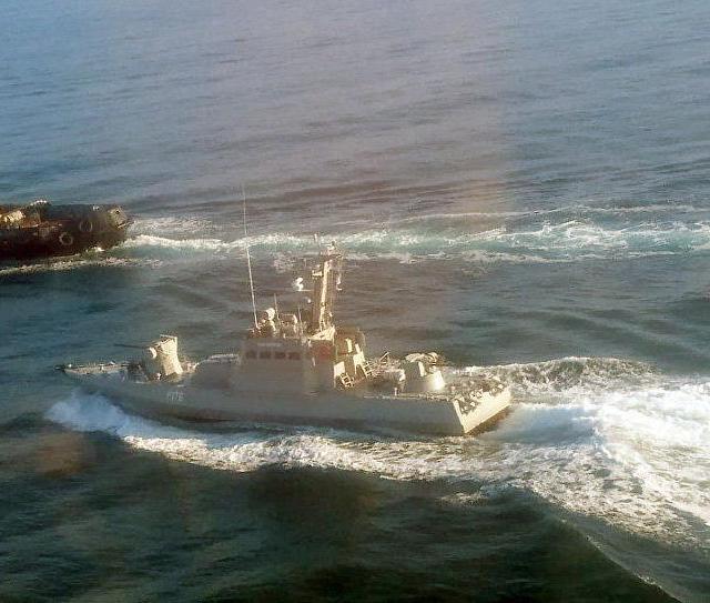 Russian Navy Seizes Ukrainian Ships
