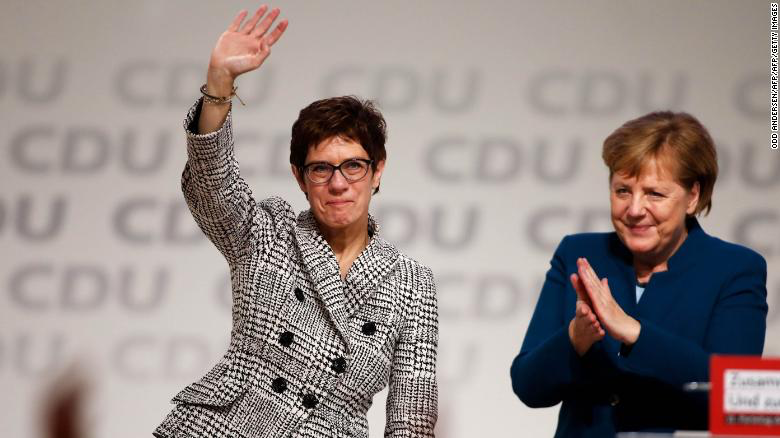 CDU Stops Short of Revolt Against Merkel