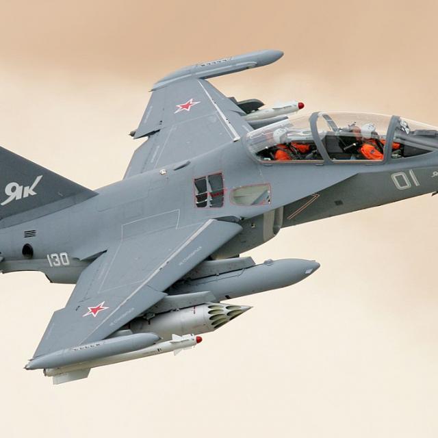 Russian YAK-130