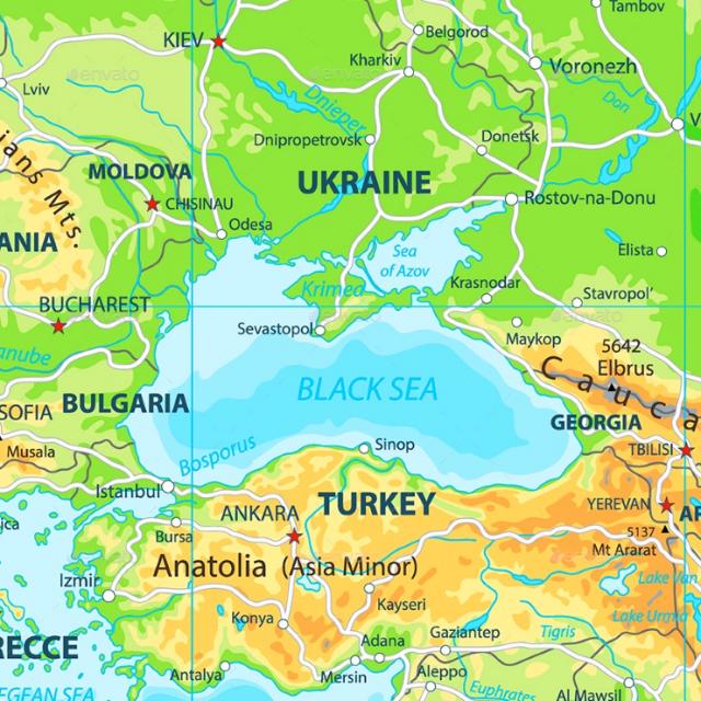 Black Sea in 2019
