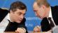 Surkov speaking with Putin