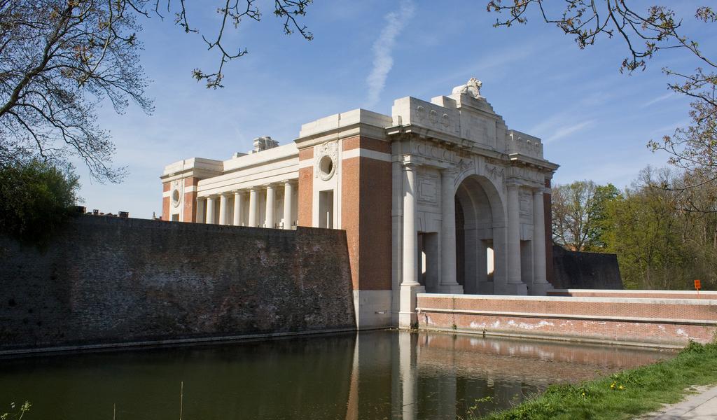 Exhibition of War Memorials from Derbyshire in Britain