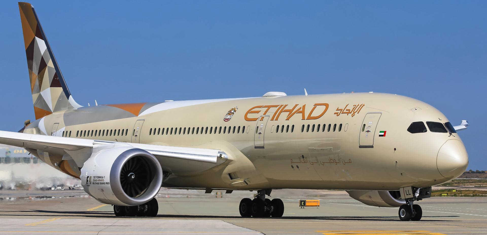Etihad Ecoflight to Brussels -