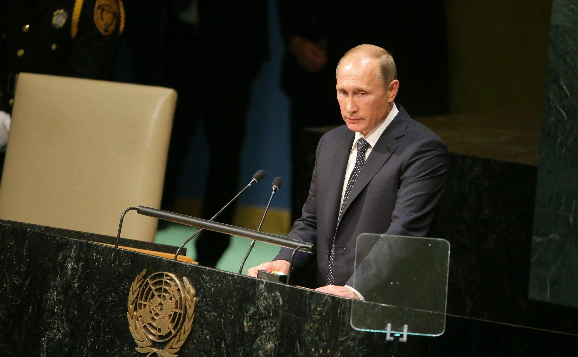 Vladimir Putin's address to the United Nations General ...