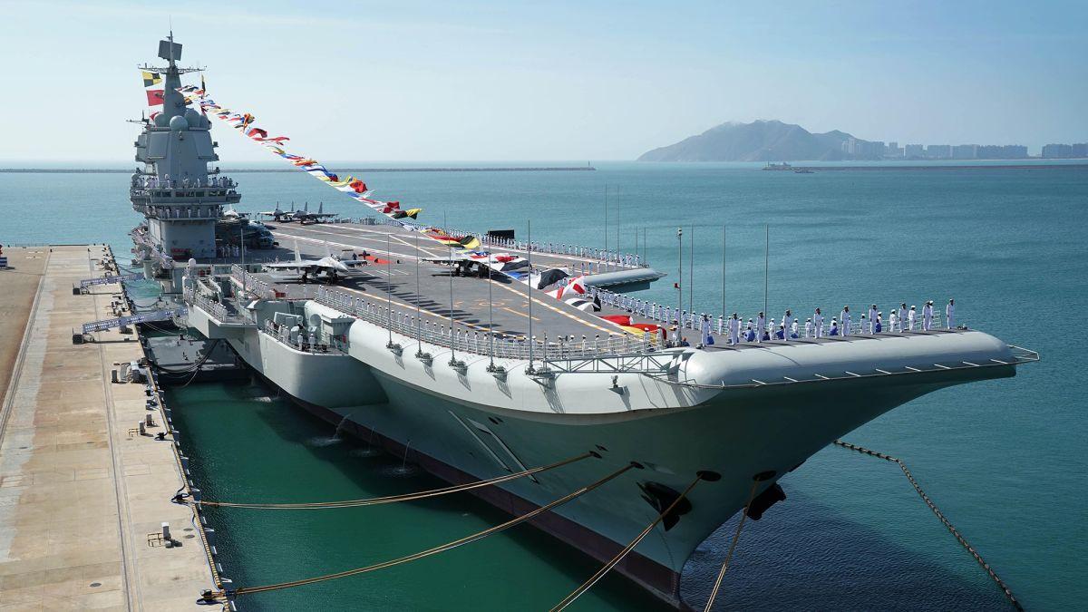 China has world's largest navy