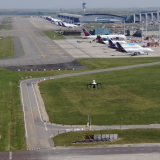 Brussels Airport testing for drone detection