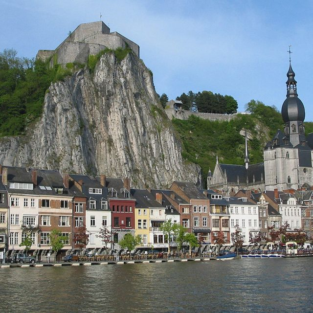 Dinant gateway to Dinant Aventure and the Euro Space Centre