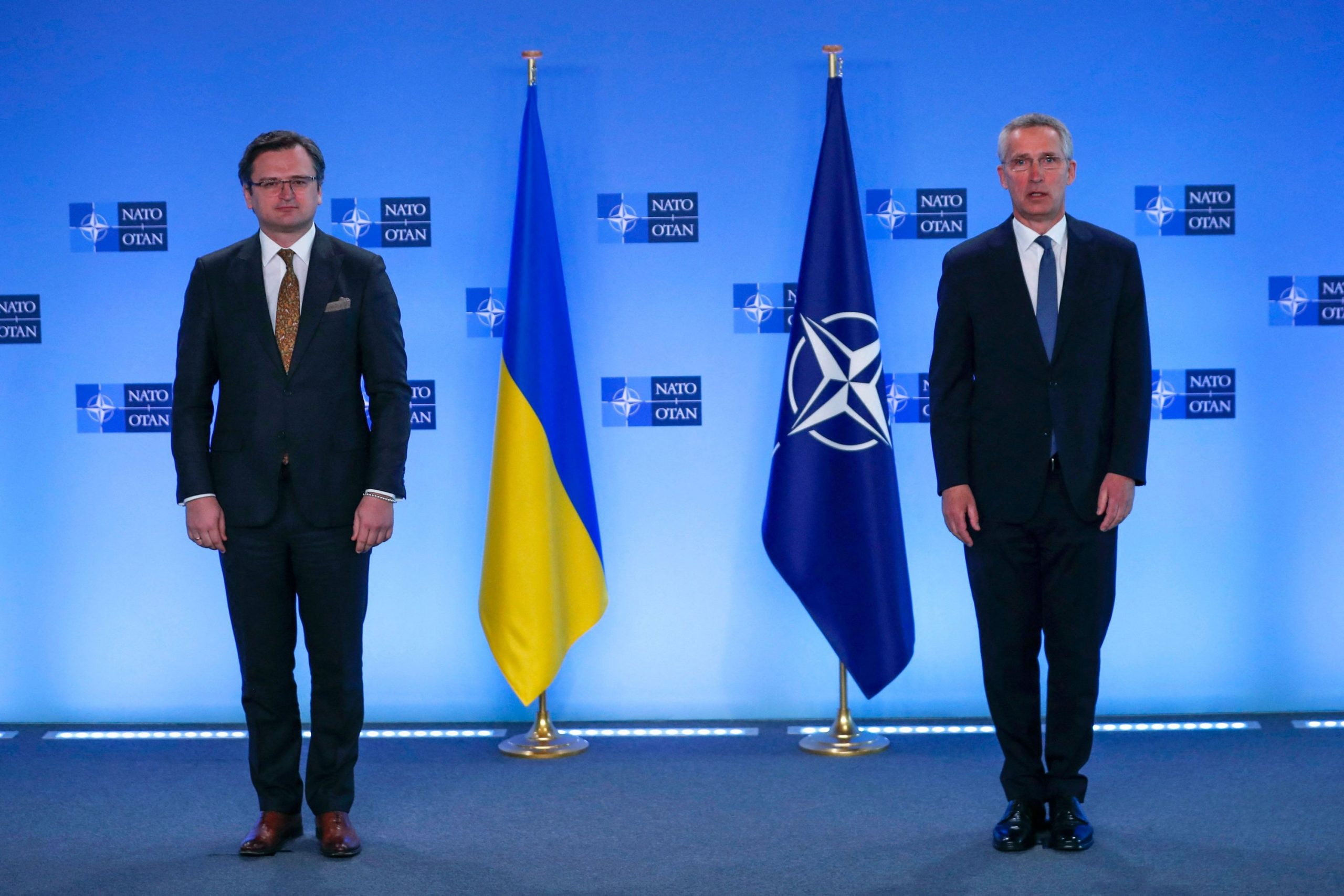 NATO's Stoltenberg calls on Russia to withdraw troops from East Ukraine and the Ukrainian border with Russia