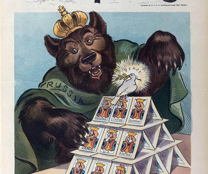 Russian Bear and House of Cards
