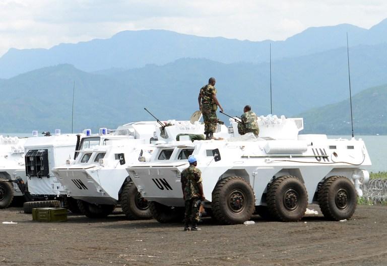 UN Troops in CAR