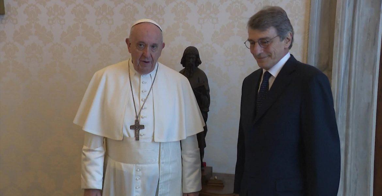 Pope Francis and Sassoli