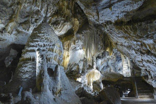 Grottes de Han in Wallonia