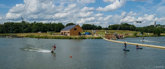 Spin Cable Park in Wallonia