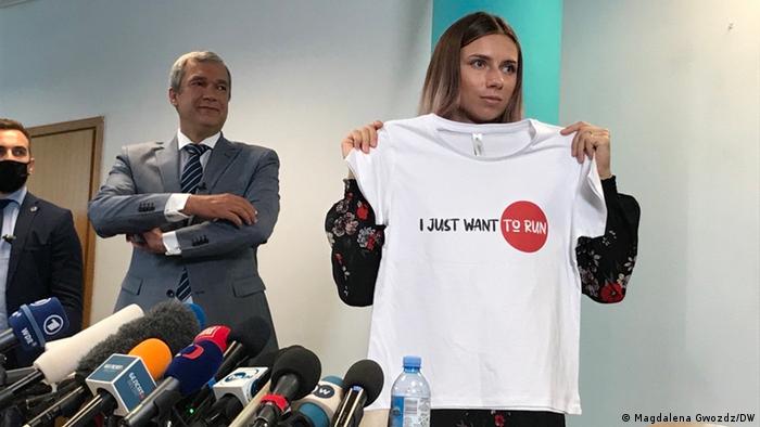 Tsimanouskaya bullied by Belarus Olympic Committee