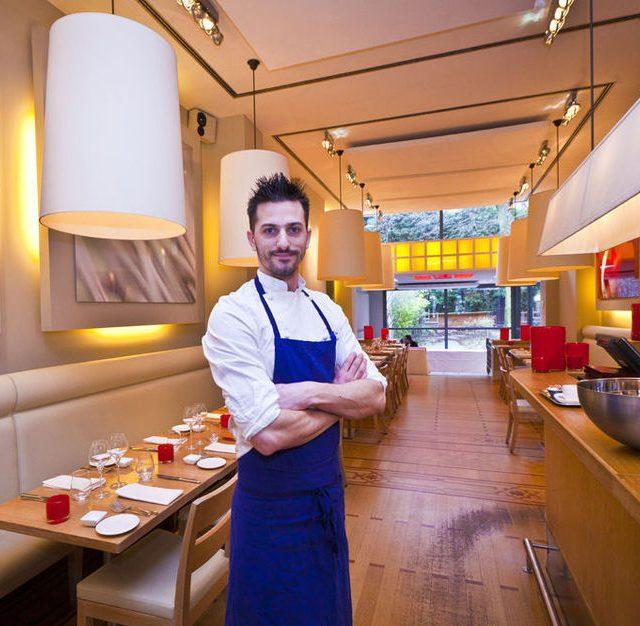 Brussels chef Alex Joseph