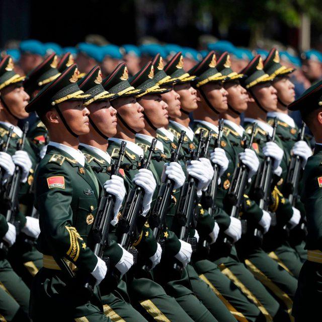 Chinese Military bullying