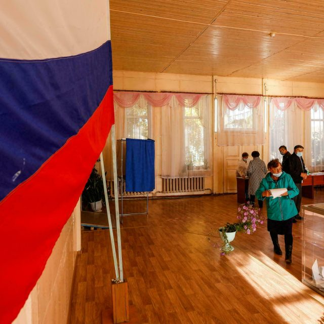 Calls not to recognise Russia Elections