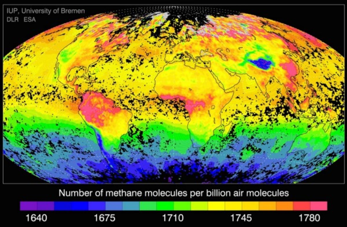 Global Methane emissions
