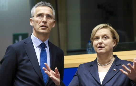 Fotyga talks with Stoltenberg about Afghanistan