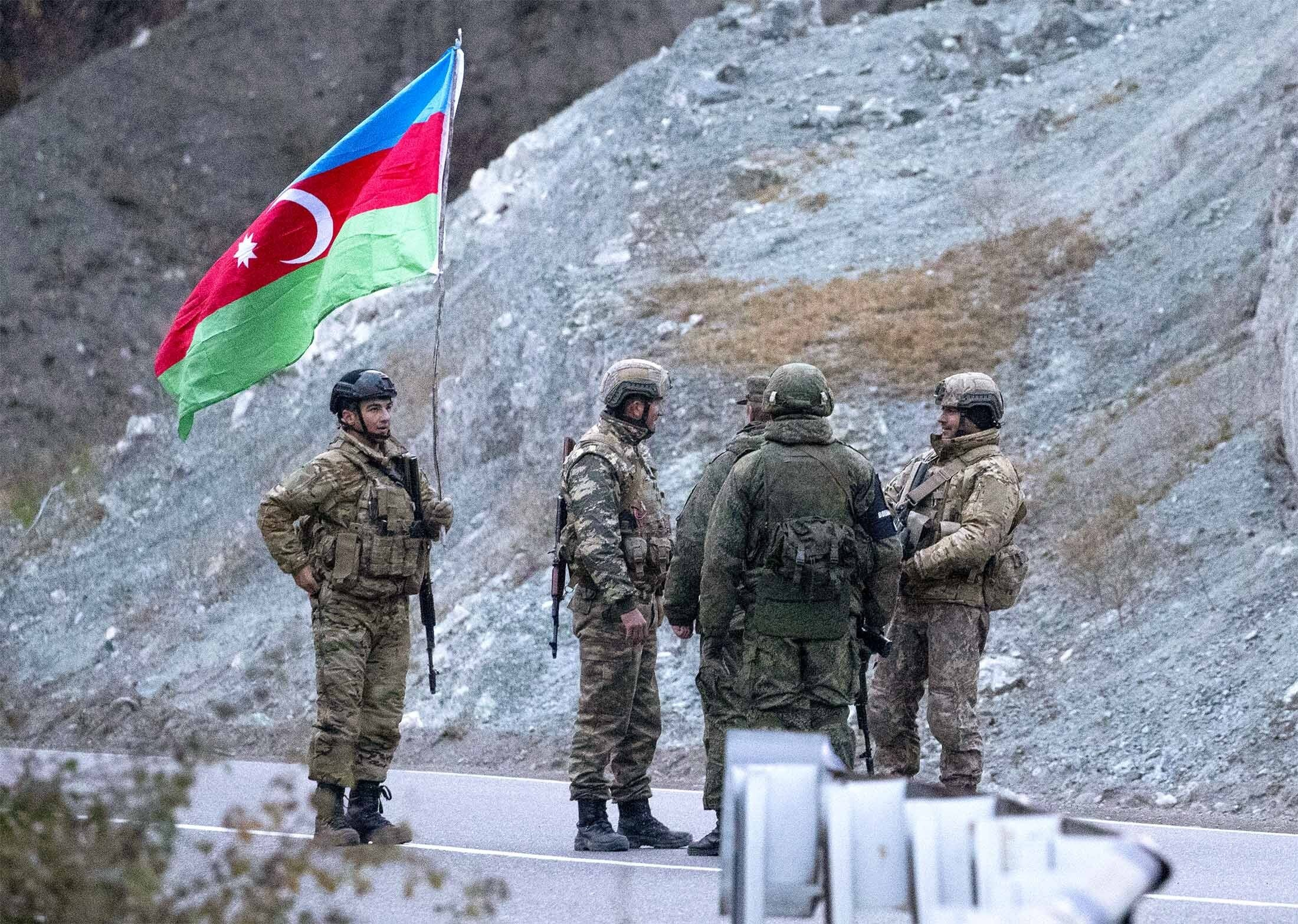 Azerbaijan soldiers